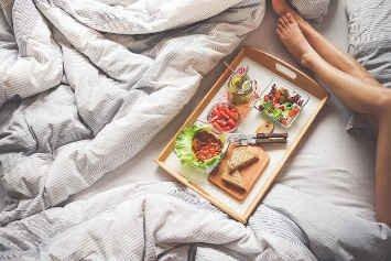 No desayunar